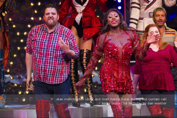 'Kinky Boots' musical, 1st Birthday, London, UK - 8 Sep 2016